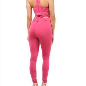 1fe16b55c129 Pants - Fuchsia Hot Pink Catsuit Jumper Romper Stretch